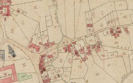 Mechelen - dorp, Kadasterkaart 1811-1832.