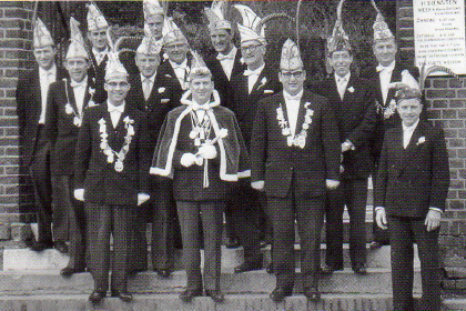 Carnavalsvereniging De Breuzelère, 1963.