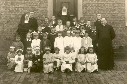 Communicanten Mechelen, 1932.