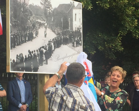 Bevrijdings – optocht 31 augustus 1945