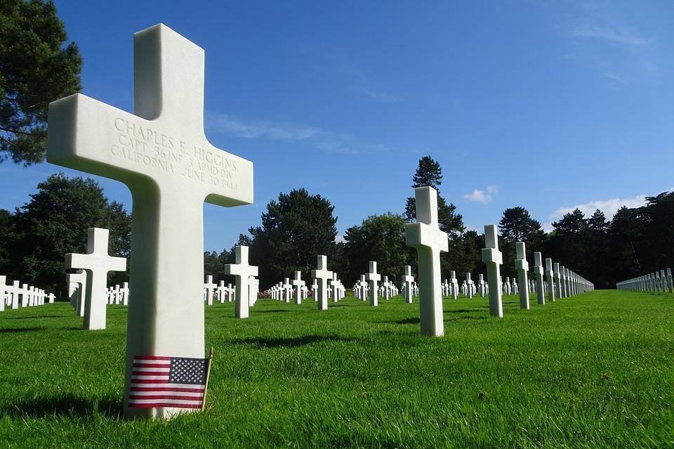 Amerikaanse begraafplaats